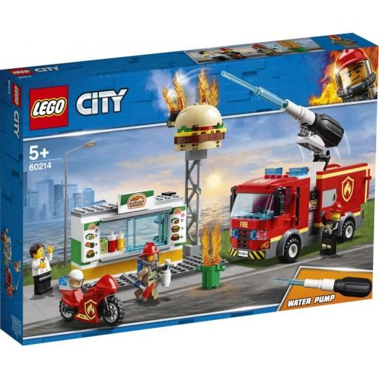 LEGO® City Fire: Burger Bar Fire Rescue