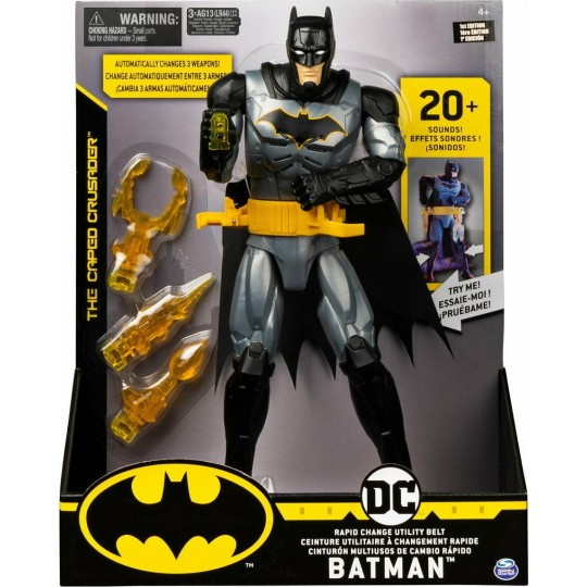 DC Batman: The Caped Crusader - Deluxe Batman Action Figure