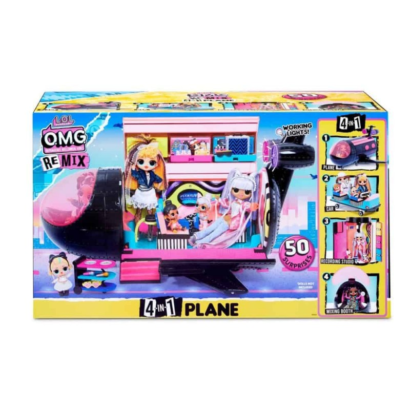 L.O.L Surprise O.M.G Remix 4in1 Plane
