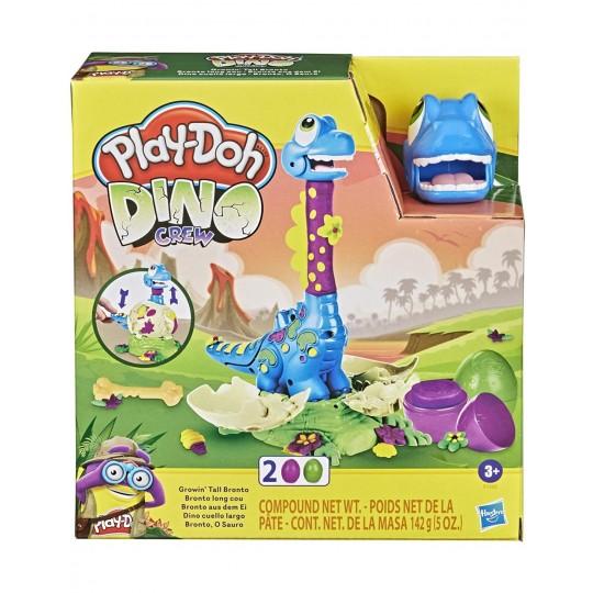 Play-Doh Fire Dino Growin Tall Bronto