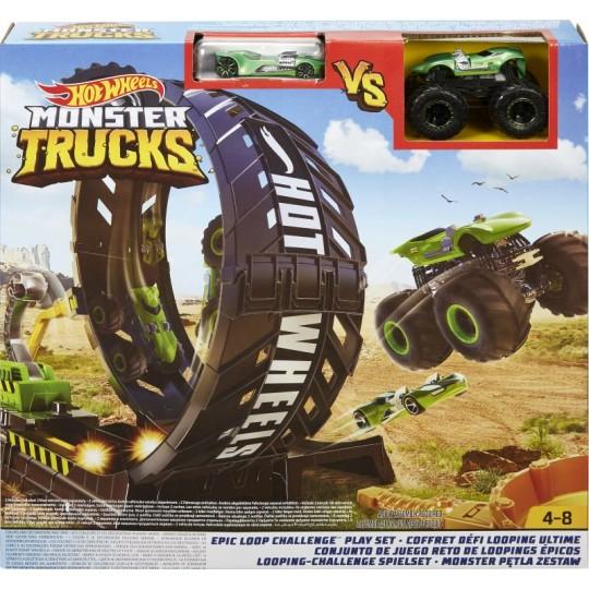 Hot Wheels Monster Trucks - Epic Loop Challenge Play Set