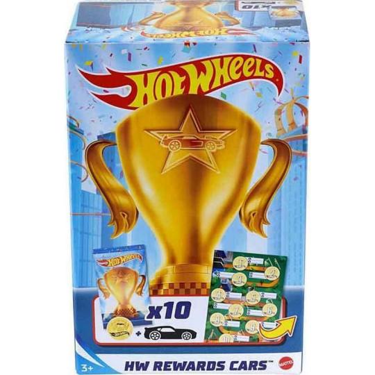 Mattel Hot Wheels Rewards Car 10Pk