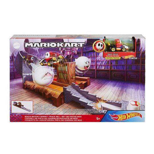 Mattel Hot Wheels: Mario Kart Boos Spooky Sprint Track Set