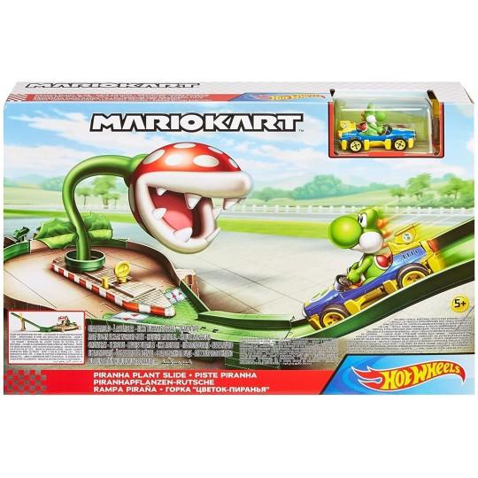 Mattel Hot Wheels: Mario Kart Piranha Plane Slide Track Set