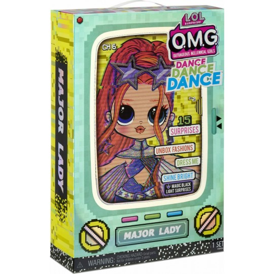 L.O.L Surprise O.M.G Dance Doll - Major Lady