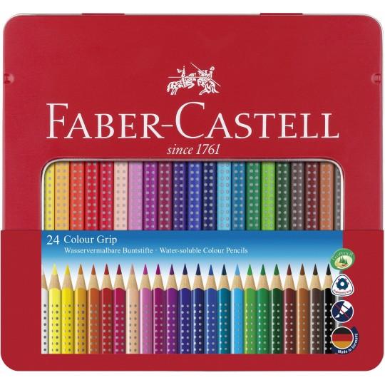 FABER-CASTELL 24 Colour Grip