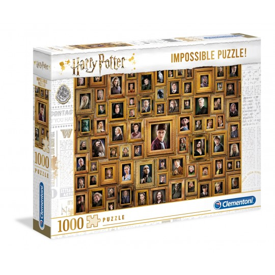 1000 Impossible Harry Potter