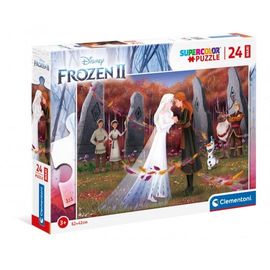 Disney Frozen 2 - 24 Maxi pcs - Super Color Puzzle
