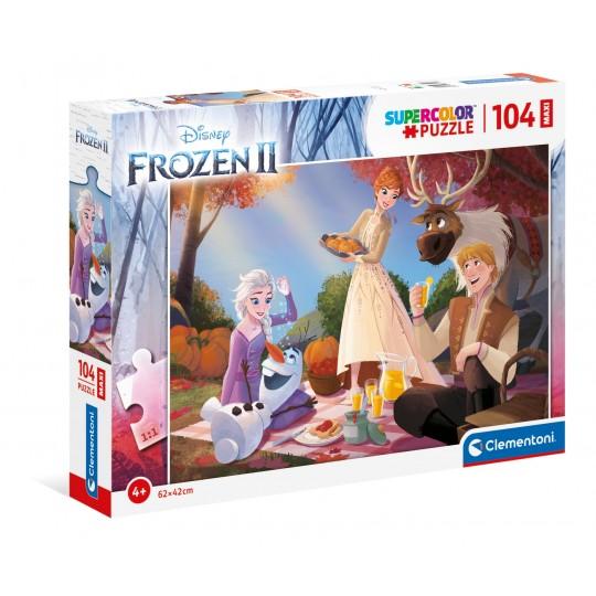Disney Frozen 2 - 104 Maxi pcs - Super Color Puzzle