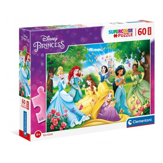 Disney Princess - 60 Maxi pcs - Super Color Puzzle