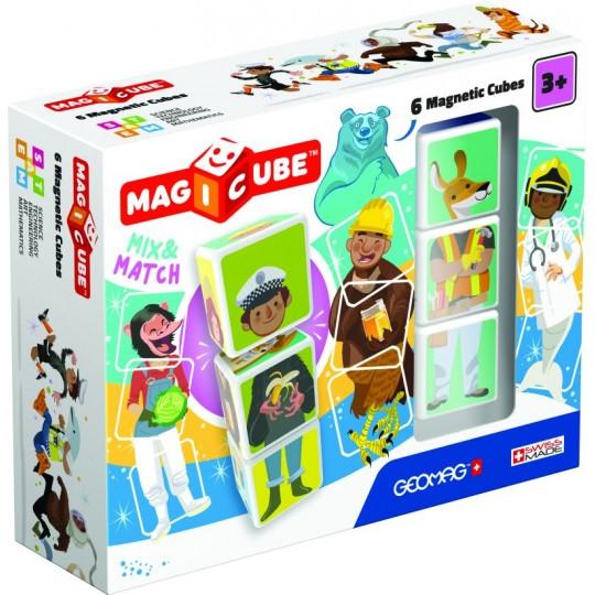 Geomag Magicube Mix & Match 6 pcs
