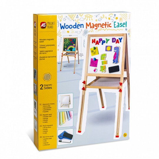 Magnetic Board Standing Easel